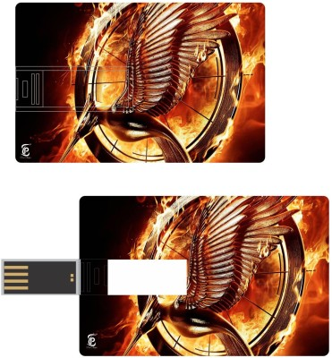 Print Shapes Hunger Games Catching Fire Credit Card Shape
