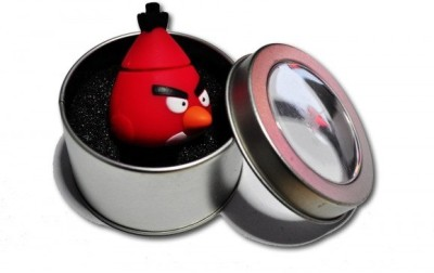 GeekGoodies Designer Angry Bird Red 8 GB  Pen Drive (Red)