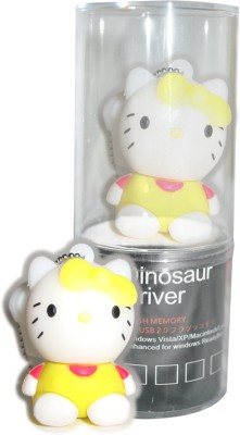 Dinosaur Drivers Miffy Yellow 8 GB  Pen Drive (Multicolor)