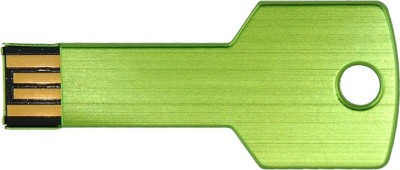 The Fappy Store Green Key 8 GB  Pen Drive (Green)