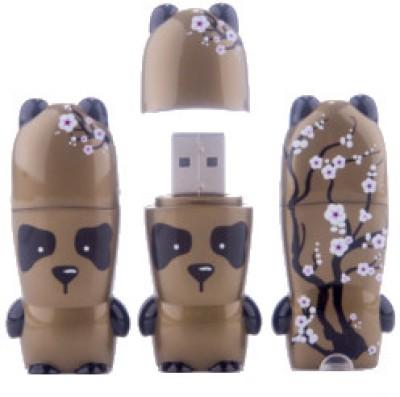 Mimobot Golden Panda 4 GB Pen Drive