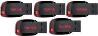 Sandisk Cruzer Blade USB Flash Drive 8 GB  Pen Drive (Black)