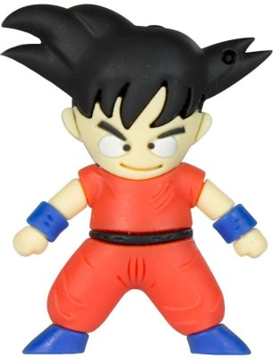 Zeztee Goku Cartoon Character 8 GB  Pen Drive (Multicolor)