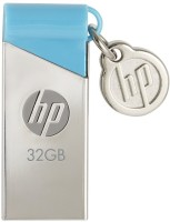Hp V 215 B 32 GB  Pen Drive (Silver, Blue)