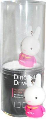 Dinosaur Drivers Miffy 8 GB  Pen Drive (Multicolor)