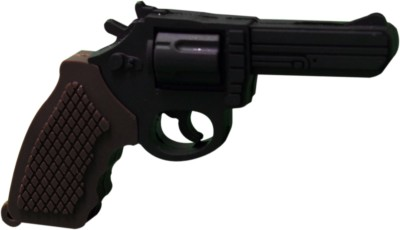 The Fappy Store Pistol Hot Plug And Play 4 GB  Pen Drive (Black)