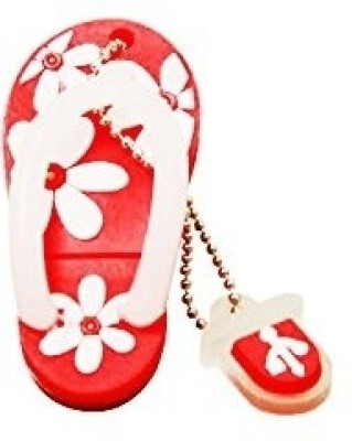 The Fappy Store Slipper 32 GB  Pen Drive (Red)