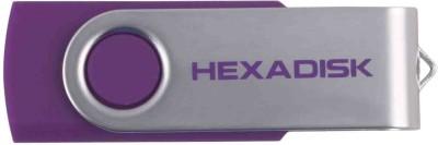 Hexadisk HD16PDP 16 GB  Pen Drive (Purple)