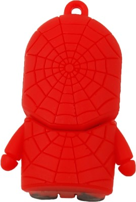 QP360 Spiderman 16 GB  Pen Drive (Red, White)