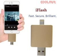 Coolnut Caiphpd-17(16gb) Usb Flash Drive 16 GB  Pen Drive (Gold)