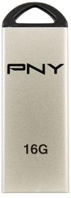 PNY M1 Attache OTG 16 GB  Pen Drive (Silver)