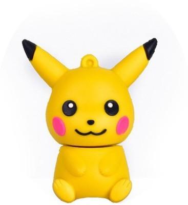 Chinmayi Pikachu 16 GB Pen Drive (Multicolor)