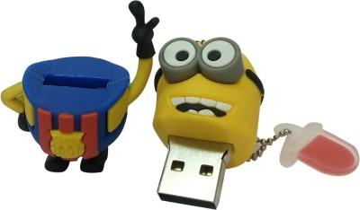Vibes P-036 16 GB  Pen Drive (Yellow)