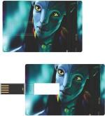 Print Shapes Avatar Girl Credit Card Shape