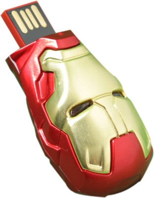 Dreambolic Iron Man Face 4 GB  Pen Drive (Red)