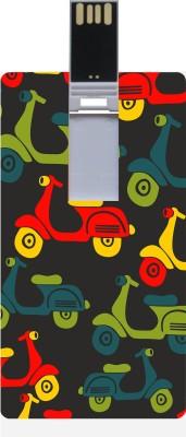 Garmor GRPd_709 Designer Printed Credit Card Shape 8GB Pendrive 8 GB  Pen Drive (Multicolor)
