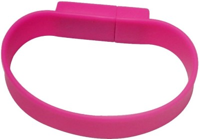 QP360 Wristband 16 GB  Pen Drive (Pink)