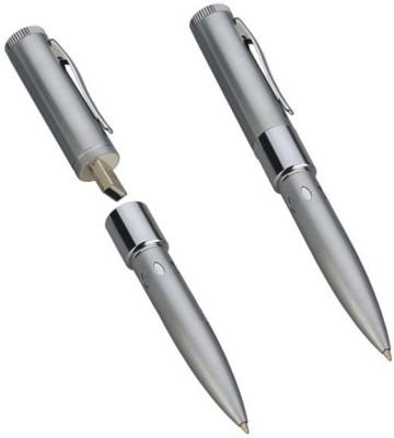 Microware Silver Pen 16 GB  Pen Drive (Multicolor)