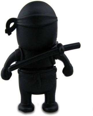 Quace Ninja 16 GB  Pen Drive (Black)