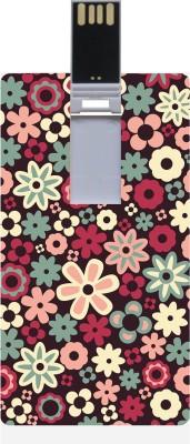 Garmor GRPd_518 Designer Printed Credit Card Shape 8GB Pendrive 8 GB  Pen Drive (Multicolor)