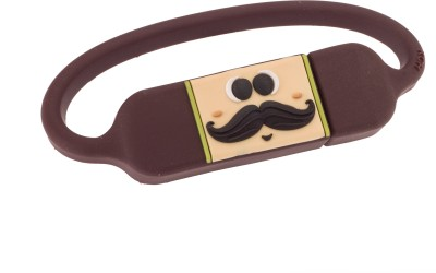 Kya Cheez Hai Bracelet-Mushtache man-BR 8 GB  Pen Drive (Brown)