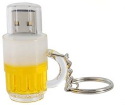 BrandAxis Beer Cup USB 4 GB  Pen Drive (Multicolor)