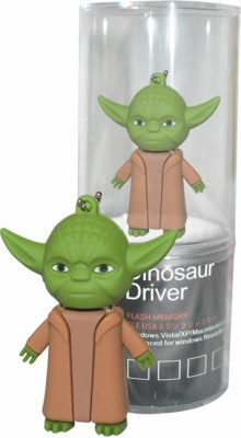 Dinosaur Drivers Star War 32 GB  Pen Drive (Green)