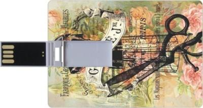 Printland Cut PC160725 16 GB  Pen Drive (Multicolor)