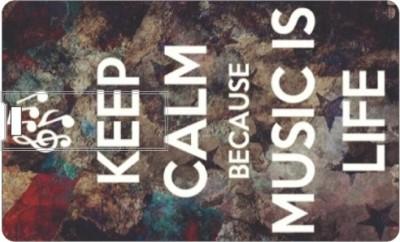 Printland Keep Calm & Music Is Life PC160542