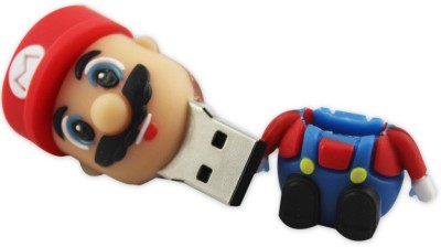 Shopizone Mario 32 GB  Pen Drive (Red, Yellow)