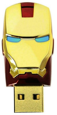 Other Iron man 8 GB  Pen Drive (Gold)