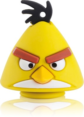 EMTEC Angry Birds USB 2.0 8 GB  Pen Drive (Yellow)