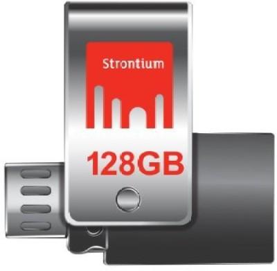 STRONTIUM 128GB NITRO PLUS PENDRIVE 128 GB  Pen Drive (Multicolor)