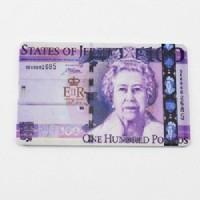 Suroskie Credit Card Pound Pen Drive 8 GB  Pen Drive (Pink)