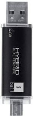 Iball Hybrid 2.0 8 GB  Pen Drive (Black)