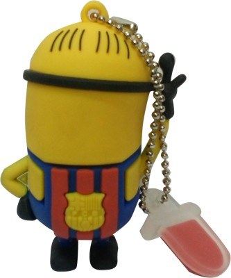 Vibes P-036 16 GB  Pen Drive (Yellow)