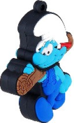 Microware The Smurfs With wood Shape