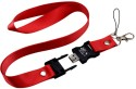 Microware 32 GB Red Lanyard Shape Designer Pen Drive Fancy Pen Drive 32 GB Fancy Pendrive