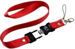 Microware Red Lanyard Shape Designer Pen Drive Fancy Pen Drive