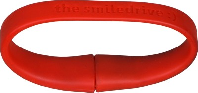 Smiledrive Wristband 8 GB Pen Drive (Red)