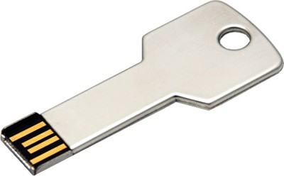 Microware 16GB Metal Key Shape Pen Drive