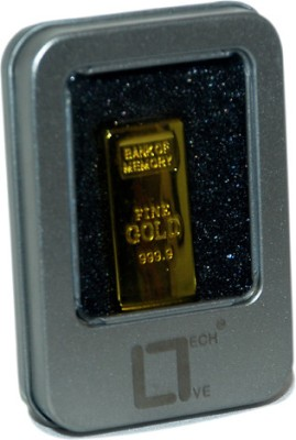 Live Tech LT 4 GB Fancy Pendrive (Gold)