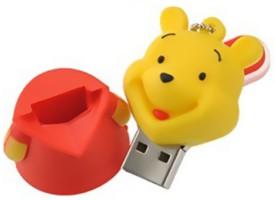 Microware-16GB-Lovely-Winnie-The-Pooh-Shape-Pen-Drive
