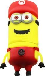 Microware 32 GB Minion Red Cap New Shape Designer Fancy Pendrive