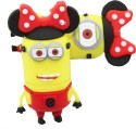 Microware 16 GB Minion Minnie Mouse Shape Designer Fancy Pendrive 16 GB Fancy Pendrive