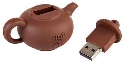 Microware 16GB TeaPot Brown Shape Pen Drive