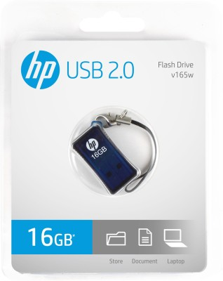 HP V-165 W - 16 GB Utility Pendrive (Blue)