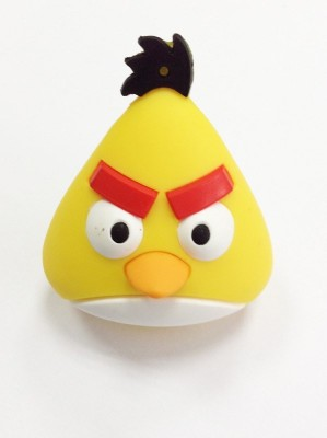 QP360 Angry Bird 16 GB  Pen Drive (Multicolor)