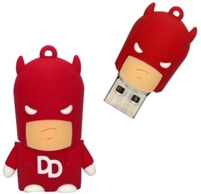 Microware Dare To Devil 16 GB  Pen Drive (Multicolor)