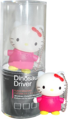 Dinosaur Drivers Miffy Red 8 GB  Pen Drive (Multicolor)